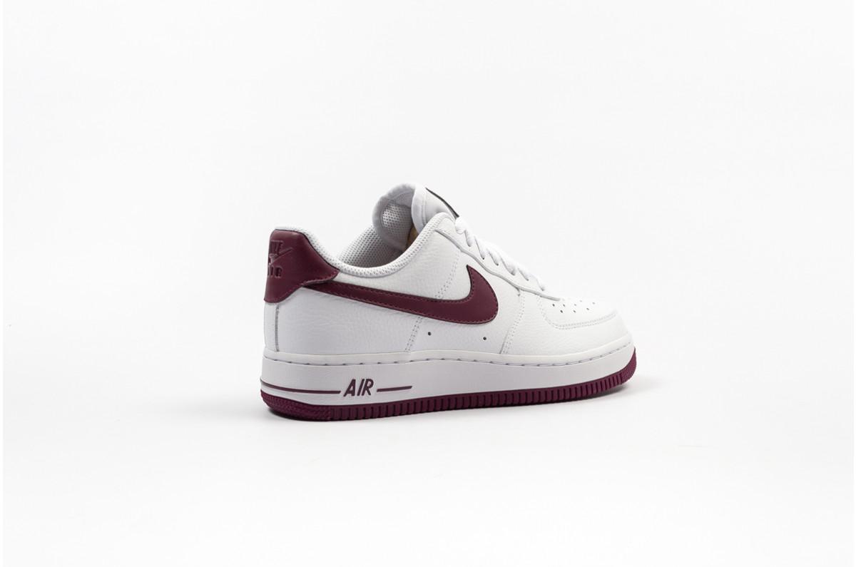 Nike Air Force 1 '07 Patent Women's ''White Bordeaux''