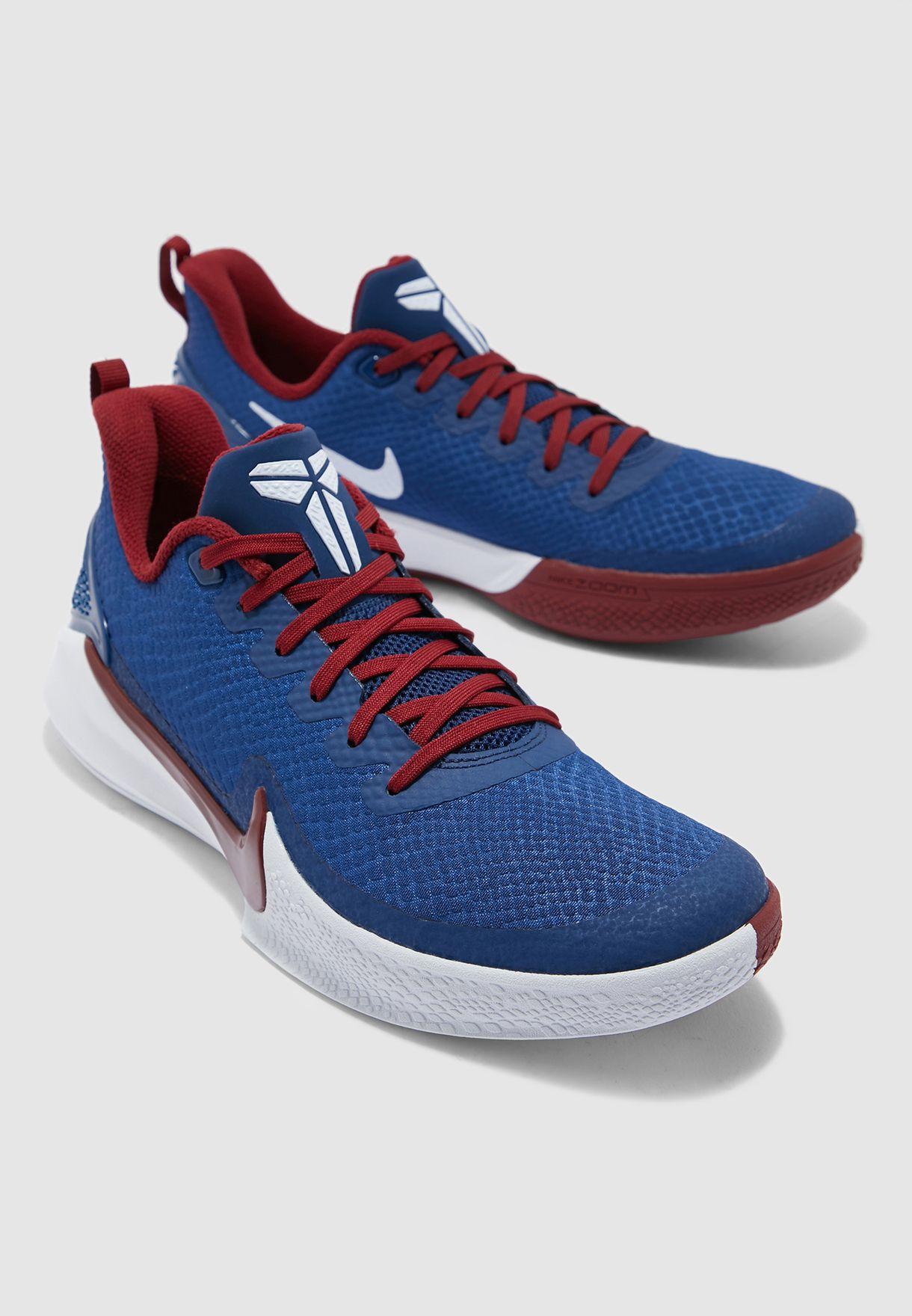 "Nike Mamba Focus ""Coastal Blue""   Pro"